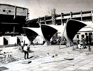 estádio Olímpico Portico 1971 (Foto: Reprodução)