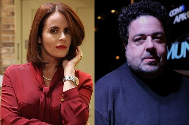 Fernanda Young e Alexandre Machado (Foto: Divulgação/GNT)