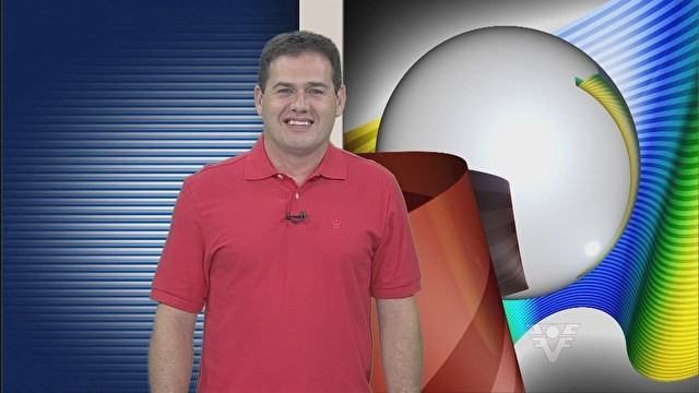 Leonardo Zanotti no Tribuna Esporte (Foto: Reprodução/TV Tribuna)
