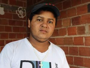 Marcos Bruno de Sousa, 21 anos, passou mais de três horas detito por engano em Teresina (Foto: Yara Pinho / G1 PI)