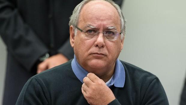 Ex-diretor da Petrobras Renato Duque presta depoimento à CPI da Petrobras (Foto: Marcelo Camargo/Agência Brasil)