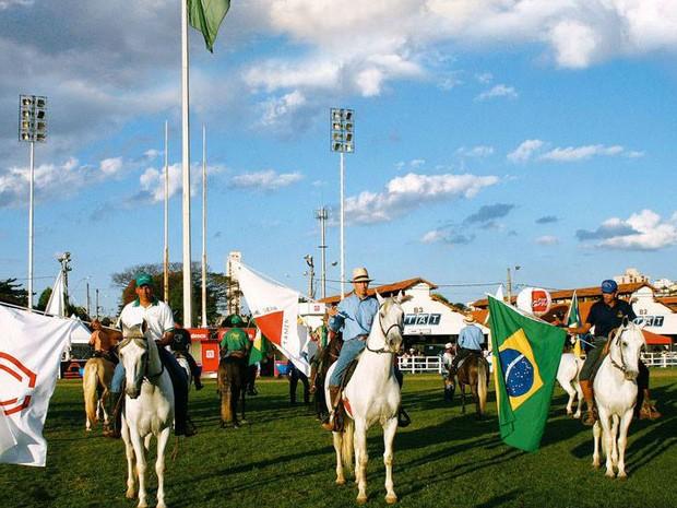 NUCLEO DE MARCHA CENTRO-OESTE MINEIRO (Foto: Núcleo Mangalarga Marchador/Divulgação)