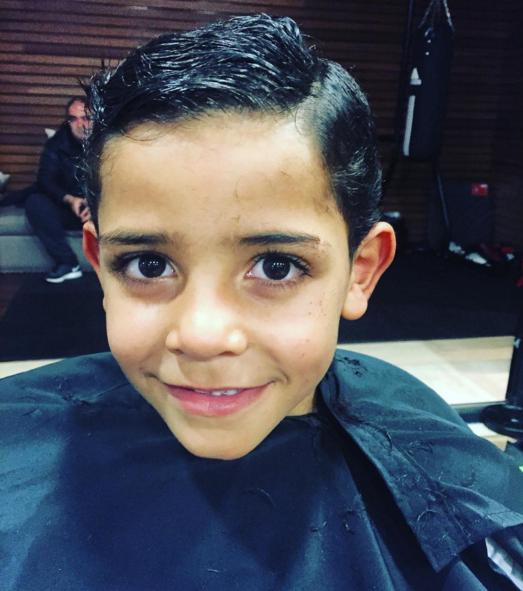 BLOG: Cristiano Ronaldo posta foto do filho com novo visual após ida ao cabeleireiro
