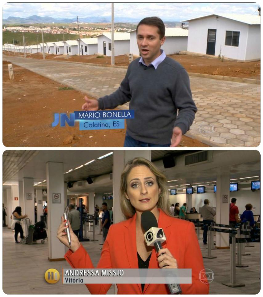 Andressa Missio e Mario Bonella (Foto: Divulgação/ TV Globo)