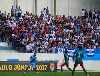 EC Taubaté x Pinheiro Copa São Paulo Joaquinzão (Foto: Bruno Castilho/EC Taubaté)
