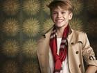 Romeo, filho de David e Victoria Beckham, posa para campanha