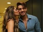 Lucas Lucco ganha beijinho da bailarina Ana Paula: 'Ela é muito especial'