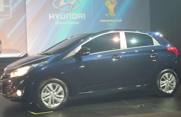 Hyundai HB20 (Foto: Luciana de Oliveira / G1)