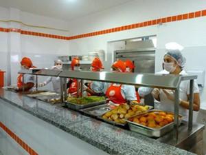 Restaurante do Bom Prato em Vicente de Carvalho (Foto: Divulgação/Prefeitura de Guarujá)
