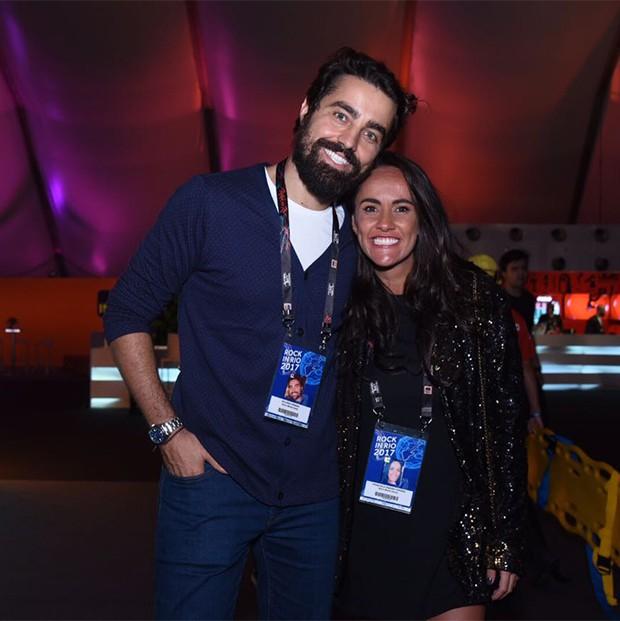 Francisca Pinto e Ricardo Pereira  (Foto: Renato Wrobel / Ed. Globo)