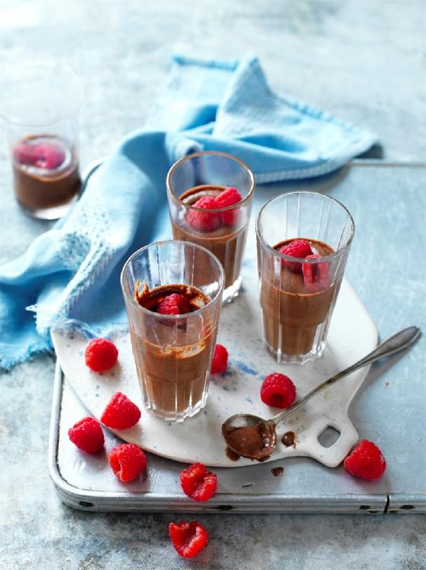 Mousse de chocolate sem açúcar fica pronta em 30 minutos (Foto: Divulgação)
