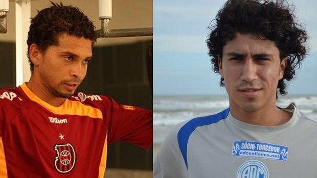 Gilmar Baiano e Marcelo Lanza (Foto: GLOBOESPORTE.COM)