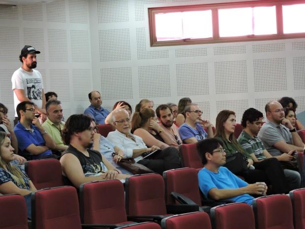 Professores da UFMS decidiram pelo fim da greve em assembleia (Foto: Arnor Ribeiro/ADUFMS-Sindicato)