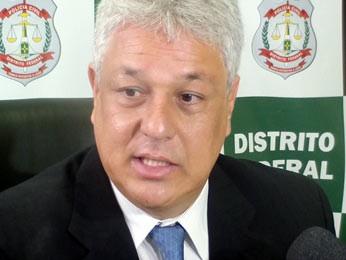 Delegado Lóssio diz que aguarda decisão da Justiça sobre o pedido de prisão de Baby (Foto: Ricardo Moreira/G1)