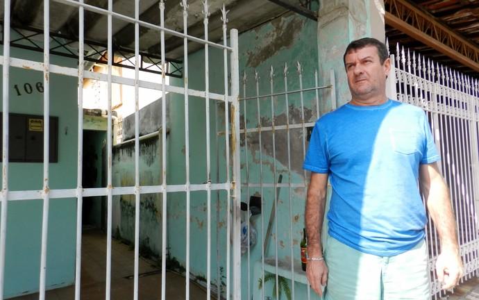 Edilson Pereira de Carvalho, ex-árbitro, em Jacareí (Foto: Leonardo Lourenço)