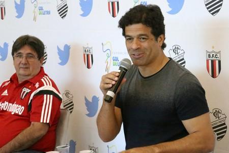 Raí, ex-jogador do São Paulo (Foto: Luis Augusto/Ag. Botafogo)