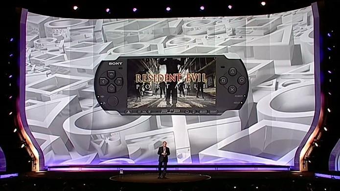 Anunciado em 2009, Resident Evil Portable nunca mais foi citado pela Capcom (Foto: Reprodução/Felipe Demartini)