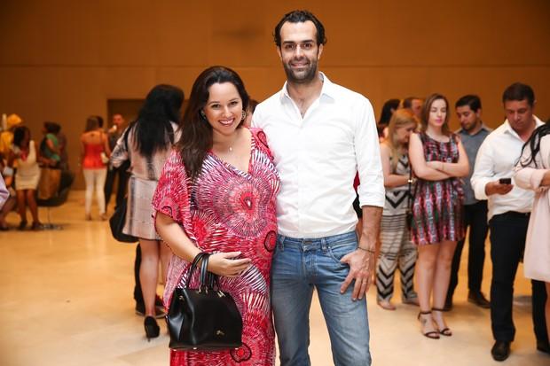 Mariana Belém e o marido, Cristiano (Foto: Manuela Scarpa/Brazil News)
