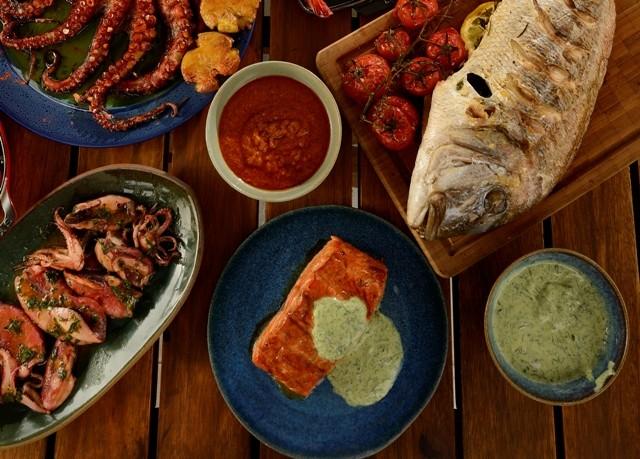 Salsa verde, pescados e frutos do mar (Foto: Mauro Holanda)