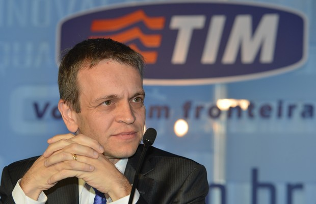 Rodrigo Abreu, presidente da TIM Brasil (Foto: Valter Campanato/ Agência Brasil)