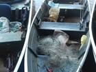 Três homens são presos por pesca predatória no Rio Ivaí, em Jussara