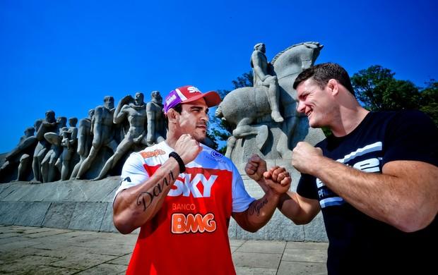 Vitor Belfort x Michael Bisping mma ufc (Foto: Wander Roberto/UFC)