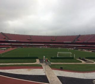 Morumbi receberá confronto entre São Paulo e Grêmio nesta quinta-feira (Foto: Alexandre Lozetti)