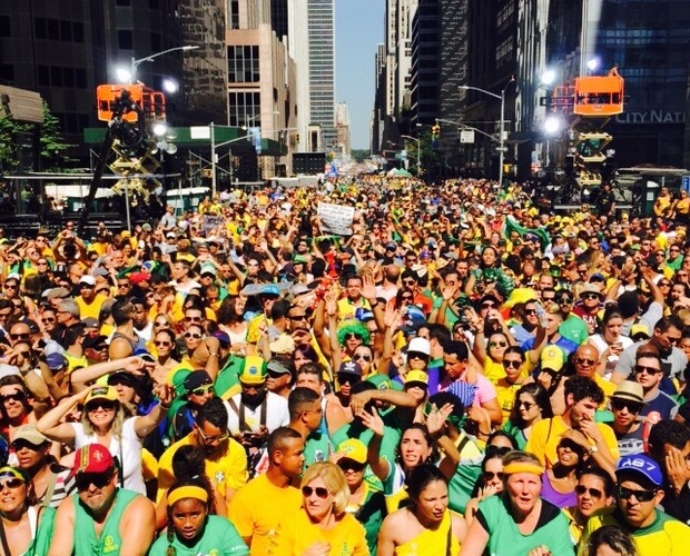 BR Day em Nova York (Foto: TV Globo)