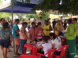 Procura cresceu após casos de febre amarela em macacos (Foto: Renata Maia/ TV Subaé)