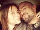 Maria Melilo e lutador Serginho Morais reatam namoro