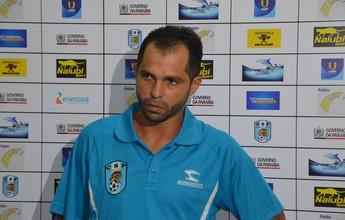 Tazinho ignora os seis gols em 2 jogos e diz que CSP ainda tem que melhorar