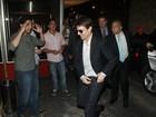 Após pré-estreia de filme, Tom Cruise janta em churrascaria no Rio