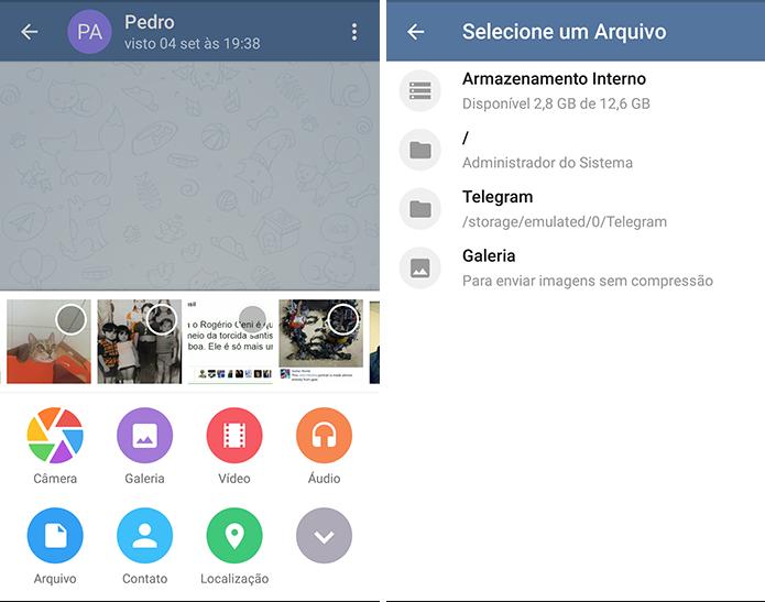 Telegram é mais versátil na troca de mensagens e envio de arquivos (Foto: Divulgação)