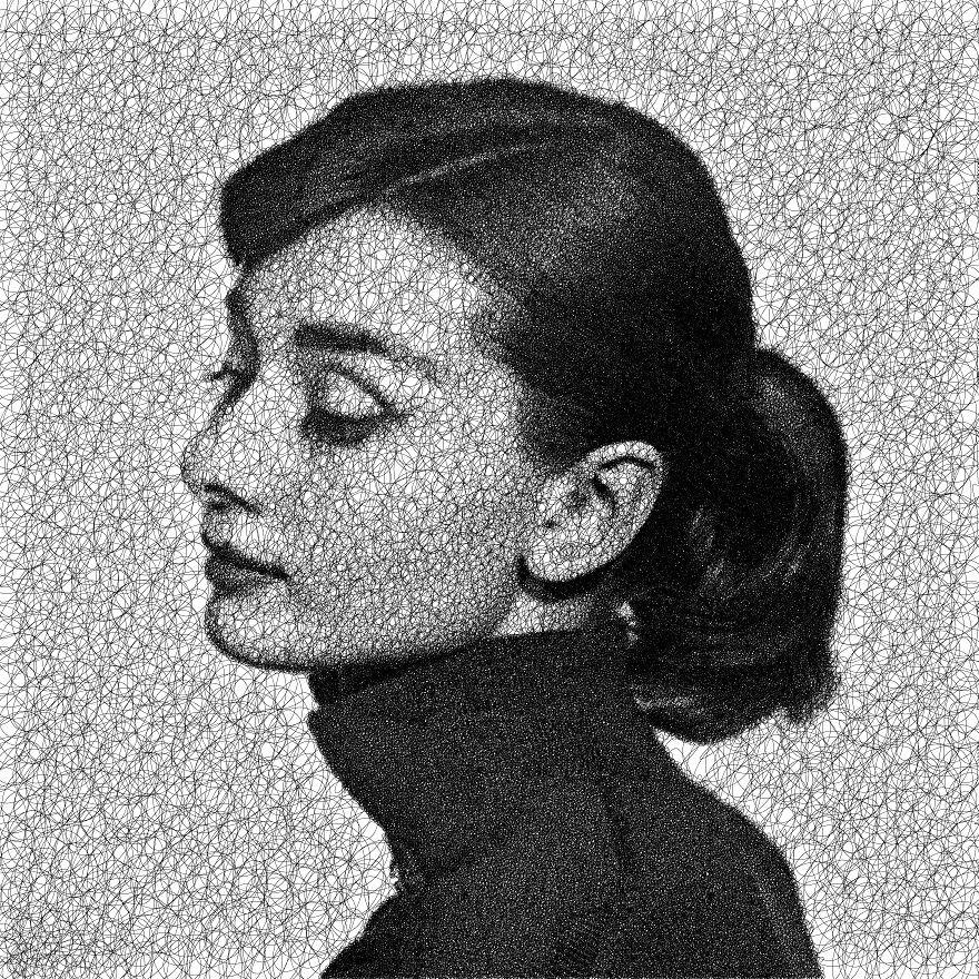 Desenhos com algoritmo de Sergej Stoppel (Foto: Sergej Stoppel)