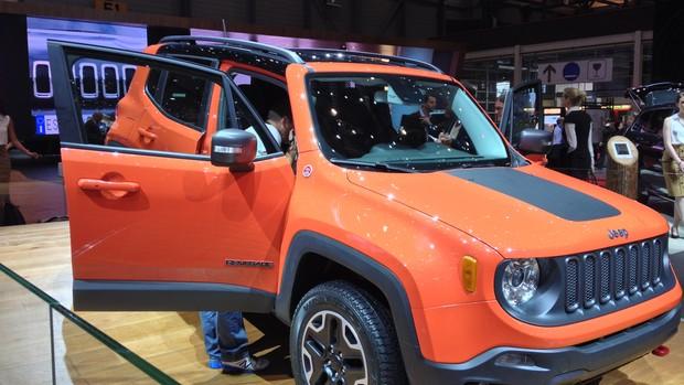 FOTOS: Jeep Renegade