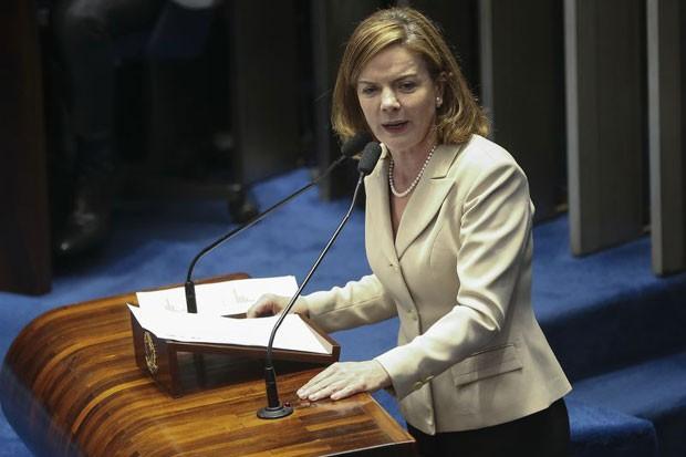 Gleisi Hoffmann (Foto: Agência Brasil)