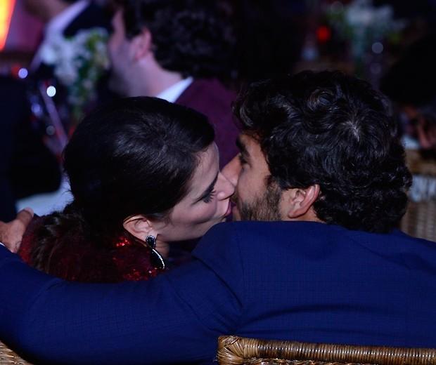 Deborah Secco e Hugo Moura, durante o Prêmio QUEM, em março (Foto: Fábio Cordeiro/QUEM)