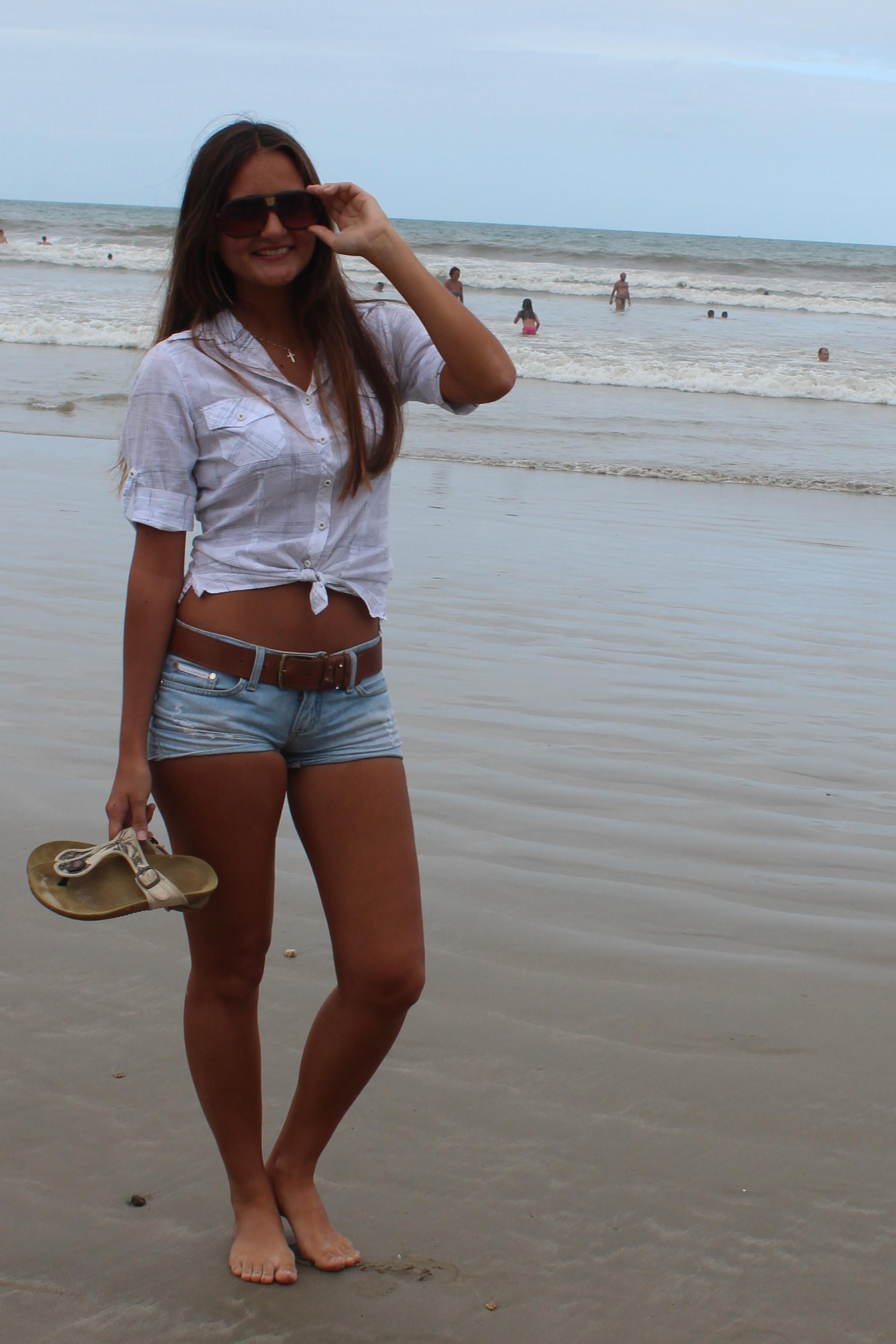 Jovem é de Itapema, no litoral de Santa Catarina (Foto: Géssica Valentini/G1)
