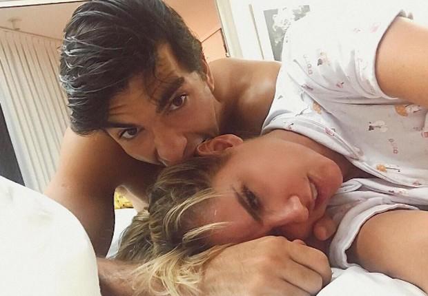 Deborah Secco e o marido, Hugo Moura (Foto: Reprodução/Instagram)