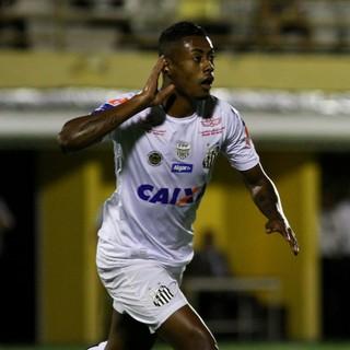 Bruno Henrique São Bernardo x Santos (Foto: Agência Estado)
