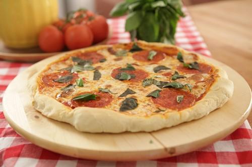 Pizza à lenha sem lenha