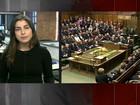 Premiê britânico homenageia Thatcher em cerimônia no Parlamento