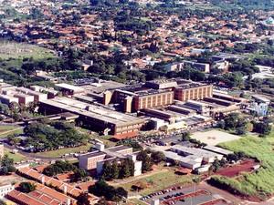 O Hospital de Clínicas da Unicamp, em Campinas (Foto: Caius Lucilius / HC da Unicamp)