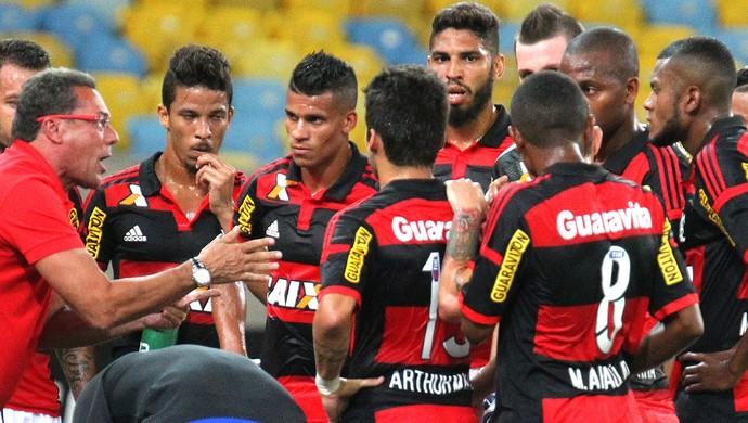 Vanderlei Luxemburgo, Flamengo X Boavista (Foto: Gilvan de Souza / Flamengo)