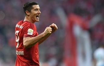 """Agente confirma interesse do Real em Lewandowski: """"Tivemos reuniões"""""""