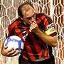 Paulo Baier comemota gol do Atlético-PR