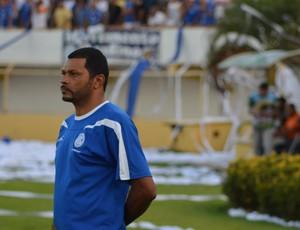 Rocha relembra Maurício Simões após título (Foto: Thiago Barbosa/GLOBOESPORTE.COM)