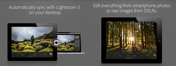 Lightroom chegou ao iPad (Foto: Divulgação/Adobe)