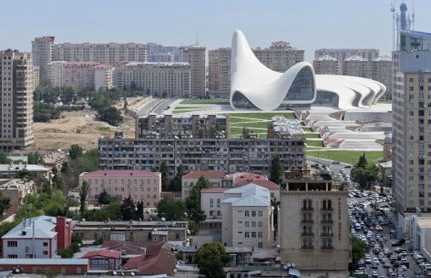 Centro Heydar Aliyev (Foto: Iwan Baan/BBC)