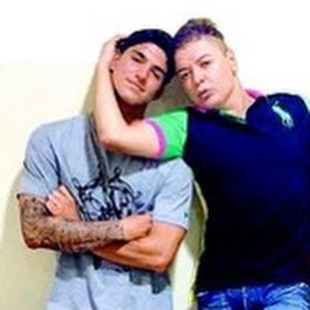 Gabriel Medina e David Brazil (Foto: Reprodução/Instagram)
